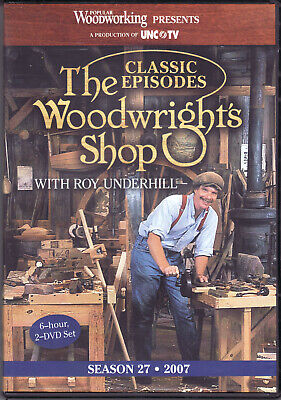 The Woodwright's Shop with Roy Underhill Season 27 - 2 DVD Set
