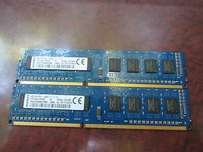 4GB DDR3 PC3-12800 DIMM (Kingston ACR16D3LU1KBG/4G 2x4=8GB