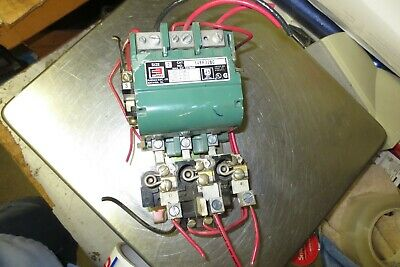 USED FURNAS SIZE 2 45AMP 3POLE STARTER 14FF32BC 220/440 coil
