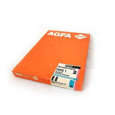 Agfa RRS 1 17,8x24cm Glossy Grade Special 90 Sheets Opened