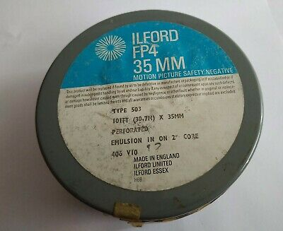 Ilford FP4 35mm REFRIGERATED Unopened canister 30.7m/101ft
