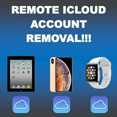 REMOTE iCLOUD/FMI/REMOVAL ACTIVATION UNLOCK IPH0NE IPAD IWATCH ALL MODELS READ!!