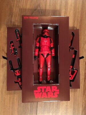SDCC 2019 HASBRO EXCLUSIVE Star Wars Red Sith Stormtrooper Black Series NEW