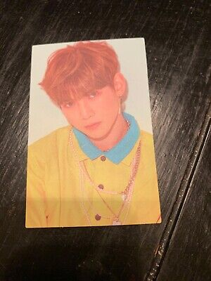 ATEEZ One To All Card MMT Signed Yeosang Photocard