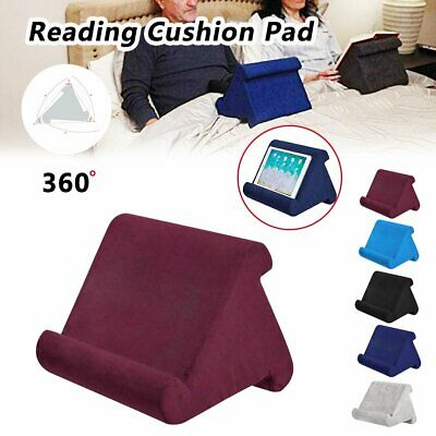 Tablet Pillow Stands For iPad  Book Reader Holder Rest Laps Reading Cushion BO