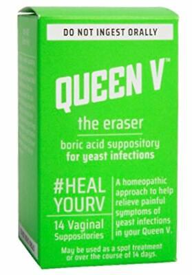Queen V The Eraser, Boric Acid Suppository