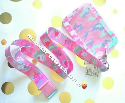Smiggle Chaos Scented Silicone Card Holder + Detachable  Lanyard,🍧 Ice Cream 💕
