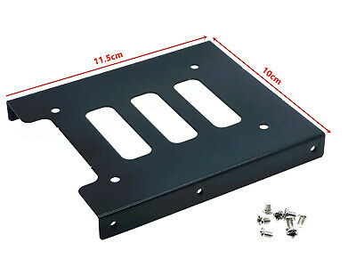 "1x PC Metal 2.5"" to 3.5"" SSD to HDD Mounting Adapter Bracket Hard Drive Holder"