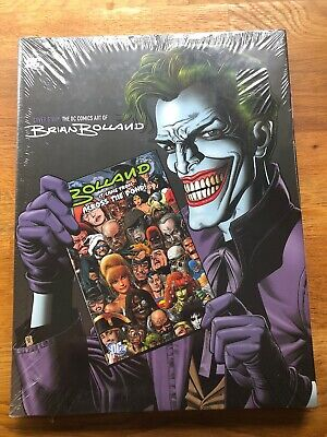 DC Comics Art Of Brian Bolland Hardcover Sealed