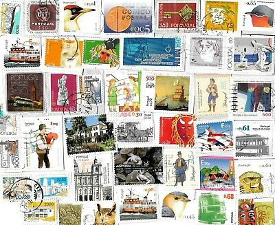 PORTUGAL - Portuguese Kiloware Selection - Stamps on Paper - Approx 20 grams