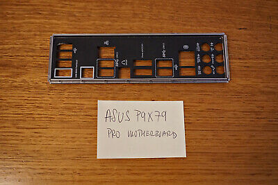 ASUS motherboard P9X79 PRO Back Plate I/O Shield