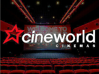 3x Cineworld standard Cinema tickets - Sundays Only - Fast email delivery