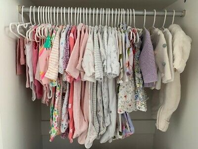 Baby Girl Clothes (0-3 Months) Build a Bundle - Inc. Ted Baker, Mori, Next, M&S