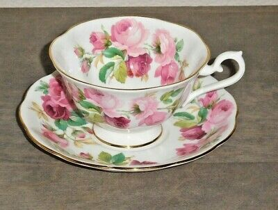 "Royal Albert Bone China - England - ""Princess Anne"" Cup and Saucer"