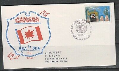 Can 1106 - 1986 34c Exploration of Canada 1 - FDC by Artopages