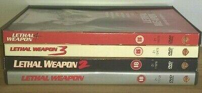 Lethal Weapon Collection - 1 - 4  (DVD 4-Disc Set)