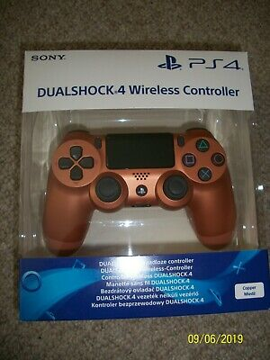 Sony PS4 Playstation 4 Dualshock 4 V2 Wireless Controller Copper/Bronze Edition