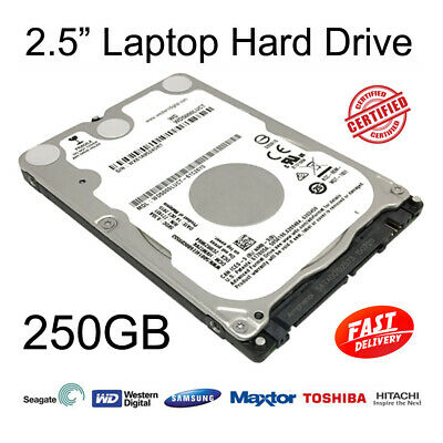 """250GB 2.5"""" SATA Internal Hard Disc Drive HDD for Dell Latitude D520 Laptop"""