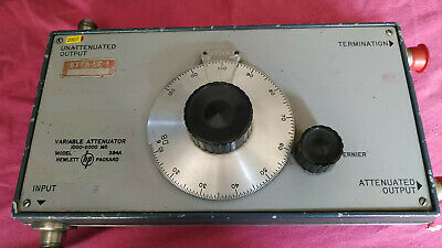 HP PACKARD VARIABLE ATTENUATOR Model: 394A