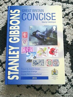 Stanley Gibbons Great Britain Concise Stamp Catalogue 2018 Postage