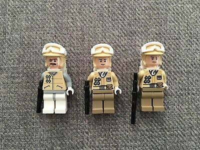 THREE LEGO Star Wars Minifigures - Used Condition