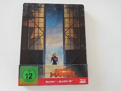 Captain Marvel 3D + 2D Blu-ray Limited Steelbook Edition