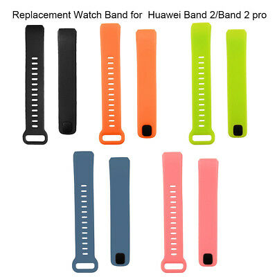 1pc Replacement Silicone Wrist Strap for Huawei Band 2/2 Pro Smart Watch Mystic