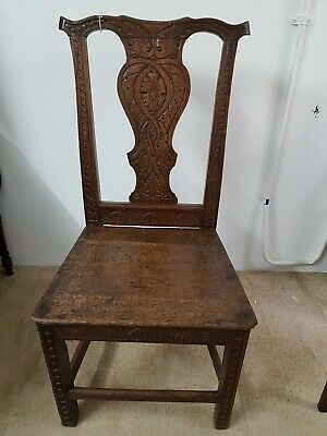 Original Solid Elm Georgian  Chair