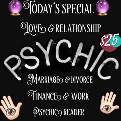 2 questions Psychic reading by phone text Dm or email accurate answers & advice