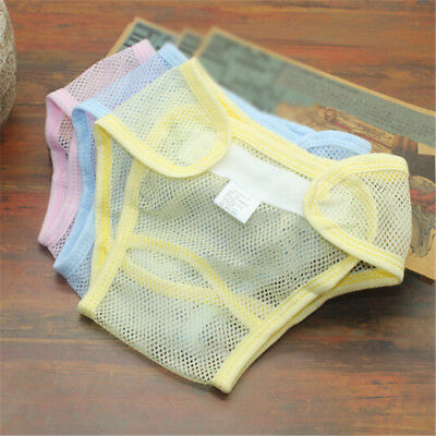 Infant Baby Diapers Reusable Nappies Cloth Diaper Washable Mesh Pocket Nappy PT