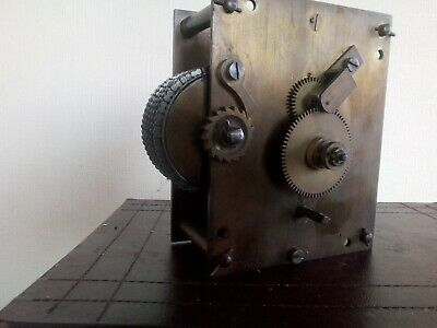 Antique Chain Fusee Clock Movement