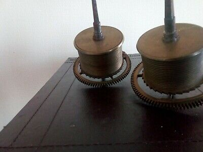 antique longcase grandfather clock parts. Gutline barrels