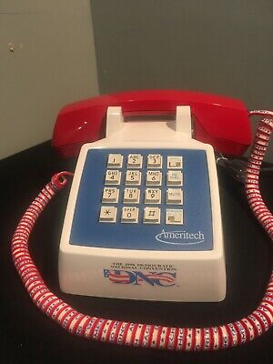 1996 Democratic National Conventions Ameritech Phone Rare! Free Shipping!