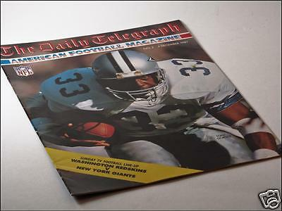 Daily Telegraph American Football Magazine Issue No. 2 04/12/87