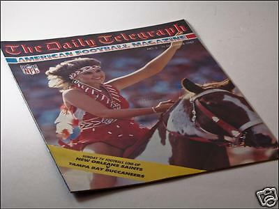 Daily Telegraph American Football Magazine Issue No. 3 11/12/87