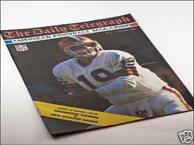 Daily Telegraph American Football Magazine Issue No. 6 01/01/88