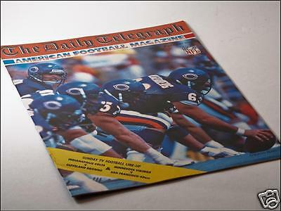 Daily Telegraph American Football Magazine Issue No. 7 08/01/88