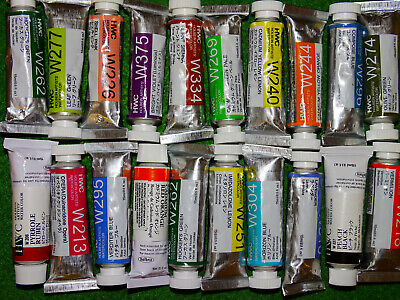 Holbein Artists' Watercolors 15 ml tubes, flat-rate shipping $3