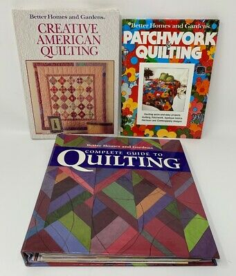 Better Homes And Gardens Complete Guide To Quilting 3-ring Binder Lot/3 19-1775