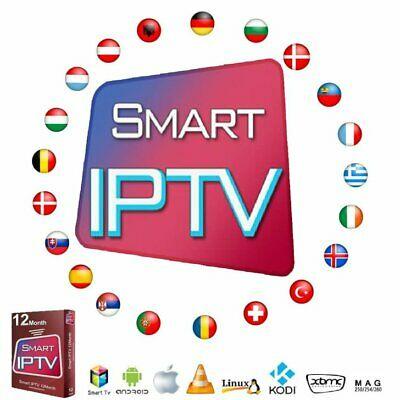 12 Month Iptv Subscription Smart Tv Mag Android Laptop Smart Iptv Smarters