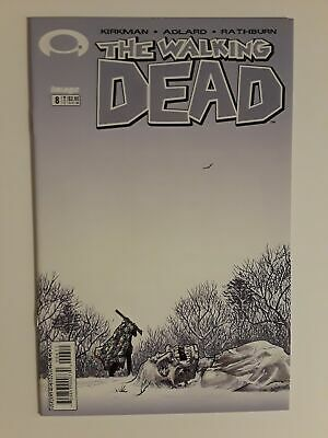WALKING DEAD #8 (NM 9.4) 2004 CHARLIE ADLARD ART; ROBERT KIRKMAN; 1st Printing