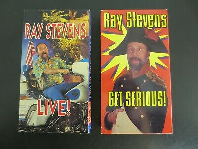 Lot of 2~Ray Stevens Videos~VHS Tapes