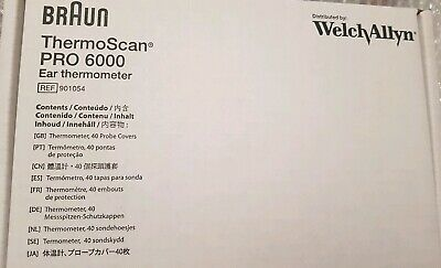 Welch Allyn Braun ThermoScan PRO 6000 with Large Cradle, BNIB