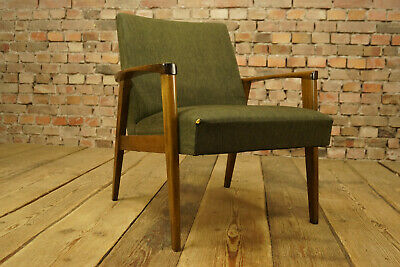60er Vintage Armchair Lounge Easy Chair Danish Modern Mid-century 1/2