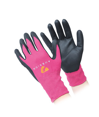 Shires Aubrion Adults All Purpose Yard Gloves - Pink