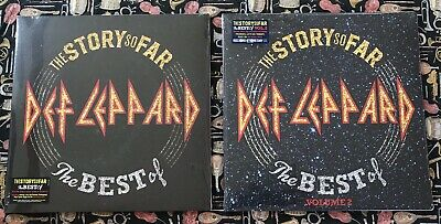 DEF LEPPARD - THE STORY SO FAR THE BEST OF VOLUMES 1 & 2 LP NEW! 4 LPs 1 SINGLE
