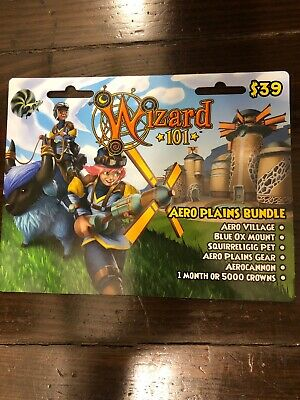 NEW WIZARD 101 Evergreen Bundle Prepaid Game Card - $60 75