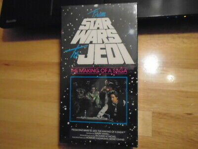 SEALED RARE OOP From STAR WARS to Jedi VHS film Making of a Saga GEORGE LUCAS 89