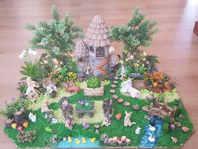 Large, handcrafted, unique,Fairy Garden