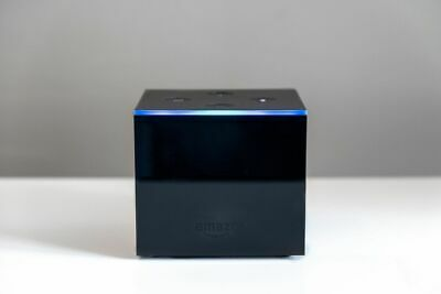 Fire TV Cube with Alexa and 4K Ultra HD, streaming media player
